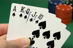 Póquer (3) Fotografia de Stock Royalty Free