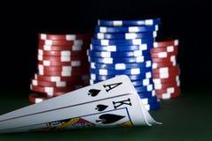 Póquer Imagens de Stock