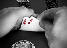 Póquer Fotografia de Stock