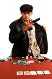 Póquer do gângster imagens de stock royalty free