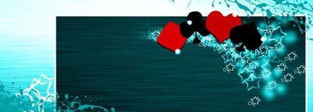 Póquer e casino ilustração stock