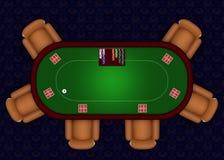 Póquer em linha Fotos de Stock