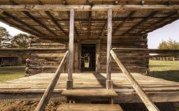 Pórtico de la cabina Fotografía de archivo libre de regalías