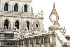 Pórtico de la pagoda tailandesa Foto de archivo libre de regalías