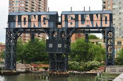Pórtico del Long Island Fotografía de archivo