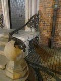 Pórtico hermoso del ayuntamiento en Wroclaw, Polonia stock de ilustración
