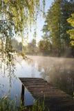 Pórtico velho da pesca Foto de Stock
