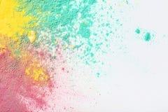 Pós coloridos do holi fotos de stock royalty free