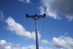 Pôle de l'électricité Photo stock