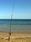 Pôle de pêche Photographie stock