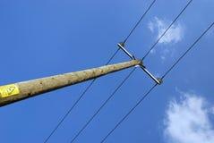 Pôle de téléphone Photo libre de droits