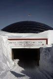 Pôle du sud géographique Photos stock