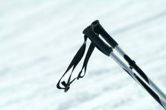 Pôles de ski Images libres de droits