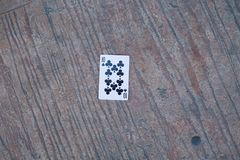 Pôquer 10 na terra fotos de stock
