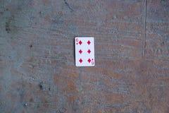 Pôquer 6on a terra fotos de stock