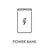 Põe a ilustração lisa do vetor do estilo do símbolo do ícone do banco ilustração do vetor