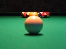 pöl för 8 boll Arkivbild