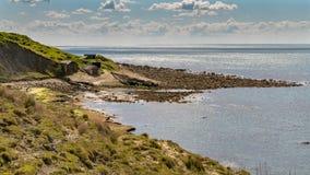 Pöl för gårdfarihandlare` s, Jurassic kust, Dorset, UK Arkivbild