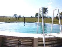 Pöl piscina Arkivfoto