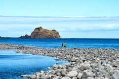 pölrockseafront Arkivbilder