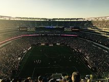 Público do estádio Fotografia de Stock