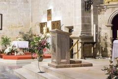 Púlpito Imágenes de archivo libres de regalías