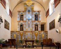 Púlpito de la misión de San Jose Fotografía de archivo libre de regalías
