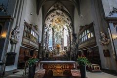 Púlpito em St Peter em Viena Fotos de Stock Royalty Free