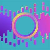 Púrpura abstracta del limo y fondo líquido rosado ilustración del vector