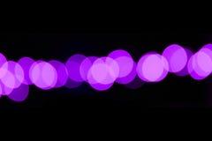 Púrpura abstracta Dot Effect del fondo Fotos de archivo libres de regalías