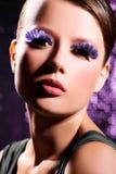 Púrpura atractiva Foto de archivo libre de regalías