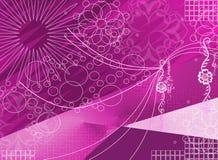 Púrpura de la flor ilustración del vector