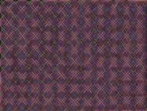 Púrpura de la marca de rayitas cruzadas Imágenes de archivo libres de regalías