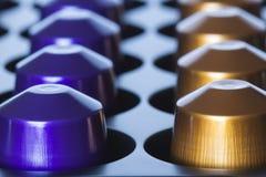Púrpura o café del oro Foto de archivo