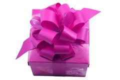 Púrpura presente Imágenes de archivo libres de regalías