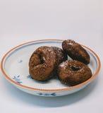 Pączek czekolada zdjęcia royalty free
