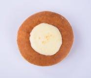 pączek lub sera pączek na tle Obraz Royalty Free