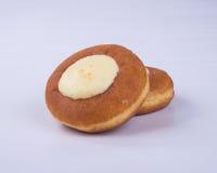 pączek lub sera pączek na tle Zdjęcie Stock