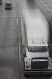 - pędząca ciężarówka Fotografia Stock