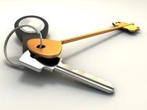 pęk kluczy ilustracji