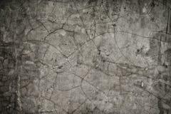 Pękający na cement ścianie Obrazy Stock
