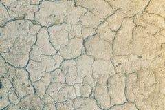 Pęknięcia w ziemi od droughtcracks Zdjęcie Stock
