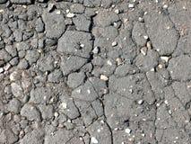 pęknięcie asfaltowa tekstura Zdjęcie Royalty Free