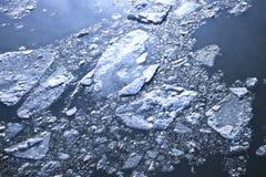 pęknięte lodu Zdjęcie Royalty Free