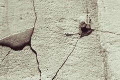 pęknie starą ścianę obrazy stock