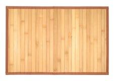 płótna drewniany stołowy Fotografia Royalty Free
