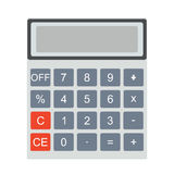 Płacić rachunki Kalkulatora wektor i ikona Fotografia Stock