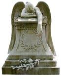 Płacząca anioł statua zdjęcie stock
