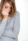 Płacząca Kobieta Obrazy Stock
