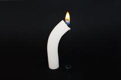 Płacz świeczka Fotografia Stock